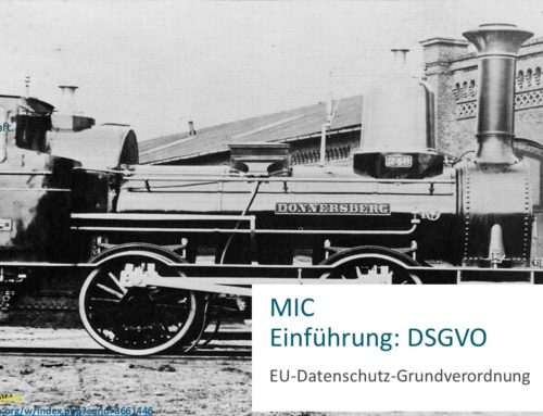 EU-GDPR – General Data Protection Regulation (Directive 95/46/EC) in Germany